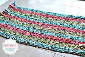 how to make rectangular braided rugs show off my big rug total stash buster