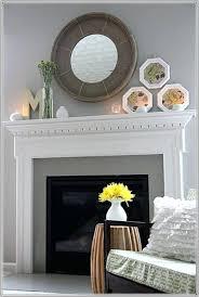 decorative fireplace screens painted decor ideas modern above