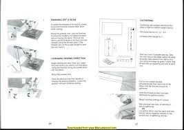 Elna 2003 Sewing Machine Instruction Manual