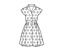 Small Picture Dress Outline Coloring PagesOutlinePrintable Coloring Pages Free