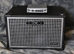 Gallien-Krueger MB-200 Bass amp and Neo 112 Cabinet - www.12fret.com
