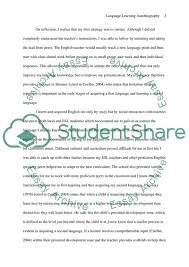 Language Learning Autobiography Essay Example Topics And