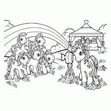 Leuk Voor Kids My Little Pony Kleurplaten My Little Pony Veel