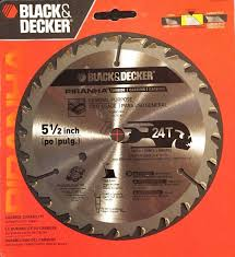 5 1 2 circular saw blade. black decker 5 1/2 inch piranha circular saw blade 24t carbide teeth 1 2 0