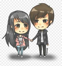Cute Couple Png Anime Chibi Drawing Sketch Cute Couple Chibi Png Free