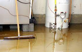 how to get water out of basement