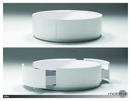 cool round coffee table with storage and popular of round storage coffee table with coffee table