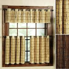 bamboo valance bamboo valance ideas diy bamboo window valances