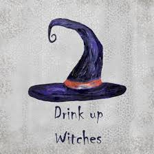 <b>Drink Up Witches</b> Coaster - French Graffiti