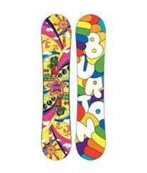 Burton Chicklet Size Chart Burton Chicklet Snowboard Girls