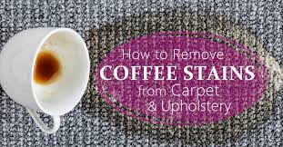 Alternatively, you can combine 1 tablespoon of dish soap, 1 tablespoon of white vinegar, and 2 cups of warm water. How To Remove Coffee Stains From Carpet And Upholstery Coit