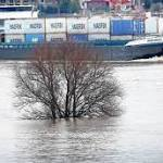 Das Hochwasser rollt nach Norden