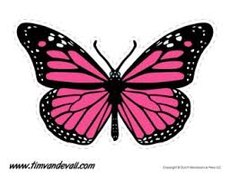 Free butterfly coloring pages printable. Printable Butterfly Templates And Butterfly Shapes