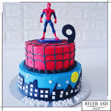 Spiderman Birthday Cakes Singaporeboys Birthday Cakes Sg River