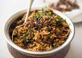 Coconut pineapple spiced rice with nutshealthy recipes tips. Middle Eastern Spiced Lentil And Rice Mejadra Recipetin Eats