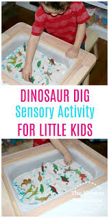 Dinosaur Pretend Play Sensory Activity for Little Kids   Activities ...