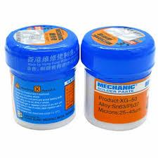 <b>Soldering Paste Flux XG 80</b> XG 50 XG 30 Solder Tin Sn63/Pb67 For ...