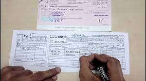 How To Fill A Deposit Slip In English Simplified