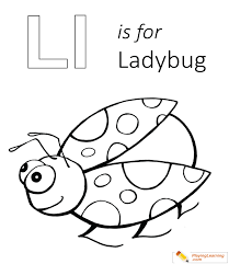 Lady Bug Coloring Sheet L Is For Lady Bug Coloring Page Free L Is For Lady Bug