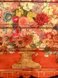 floral decoupage furniture. Floral Painted Chest By Denise Cerro. Decoupage DresserDecoupage FurnitureFurniture Furniture