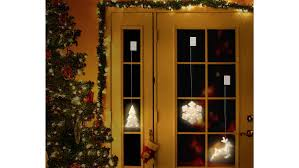 Polarlite Lba 50 020 Fenster Dekoration Weihnachtsbaum Warm Weiß Led Transparent