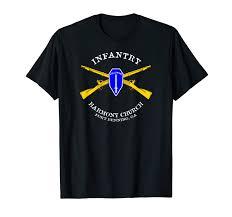 Church Tee Shirt Designs Amazon Com Us Army Infantry Harmony Church T Shirt Design