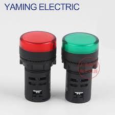 220v Pilot Light Us 0 99 P127 22mm Indicator Led Lamp Signal Pilot Lamp Ad11 22 7gz Led Power Indicator Light 6v 12v 24v 36v 48v 220v 380v In Indicator Lights From