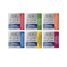 Winsor And Newton Cotman Color Chart Winsor Newton Cotman Half Pan