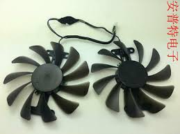 <b>2pcs</b>/<b>lot</b> GF10012H12SPA 0.5A <b>GPU fan</b> For zotac GeForce GTX ...