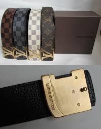 Designer Louis Vuitton Belts Belts 2993 L Louis Vuitton Designer Genuine Leather Belt