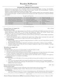 Project Manager Resume Samples And Writing Guide 10 Examples It