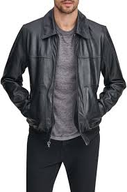 Andrew Marc | Vaughn Leather Bomber Jacket | Nordstrom Rack