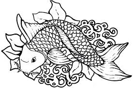 Small Picture Tropical Fish Coloring Page exprimartdesigncom