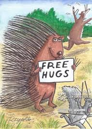 Image result for cartoon illustration of a hug