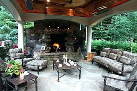 covered outdoor kitchens with fireplace. Wonderful With Outdoor Kitchens With Fireplace Kitchen Designs 1   To Covered Outdoor Kitchens With Fireplace P
