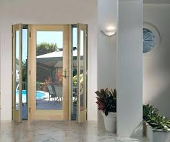 patio door with venting sidelites tradition plus wood swinging patio door venting sidelights pine low e