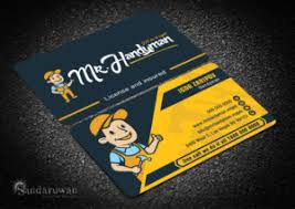 handyman business 215 professional modern handyman business card designs for a