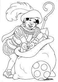 25 Idee Kleurplaten Sinterklaas En Zwarte Piet Mandala Kleurplaat
