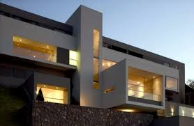 View modern house lights Luxury This Modern Hosts Hill Is Located In Las Casuarinas Peru And Has Stunning View Of The Capital Lima The Residence Is Striking Modern Architecture And Qualtechclub Modern House In Pending Purchase Beautiful Views Of Lima