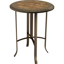 brilliant round bar top table round copper bar height table with with regard to round bar top table ideas