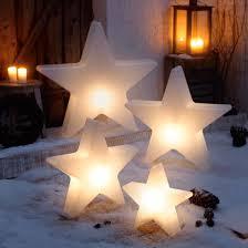 Weihnachtsstern Shiny 60 Cm Kunststoff Weiß Pure Day