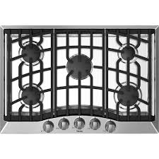 viking 30 gas cooktop front standard