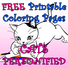 Here are free coloring pages with lampo, milady, pilou, and polpetta that you can download and print. Cats Personified 10 Free Printable Coloring Pages For Kids Feltmagnet Crafts
