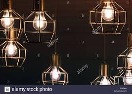 Kronleuchter Mit Hängenden Lampe Lampen Gelb Led