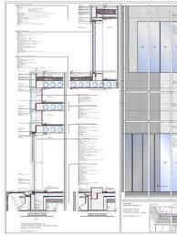 Konstruktives Projekt Fassadenschnitt M 1 20