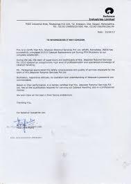Reliance Offer Letter Reliance Offer Letter Barca Fontanacountryinn Com