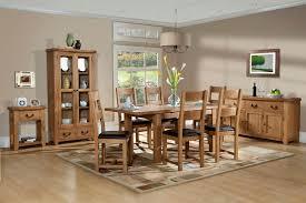 canterbury oak extending table on dining room oak furniture