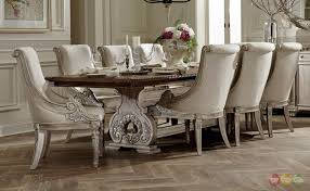 traditional formal dining room furniture set inspired home sets teak table kitchen with bench dinner leaf casual large round furnishings small wooden cool