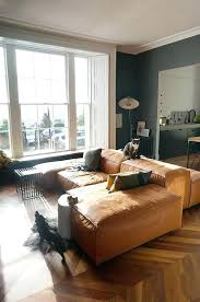 tan couch living room ideas lovable light brown leather sofa decorating with colored yellow dec