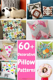 Pillow Patterns Interesting 48 Decorative Pillow Patterns AllFreeSewing